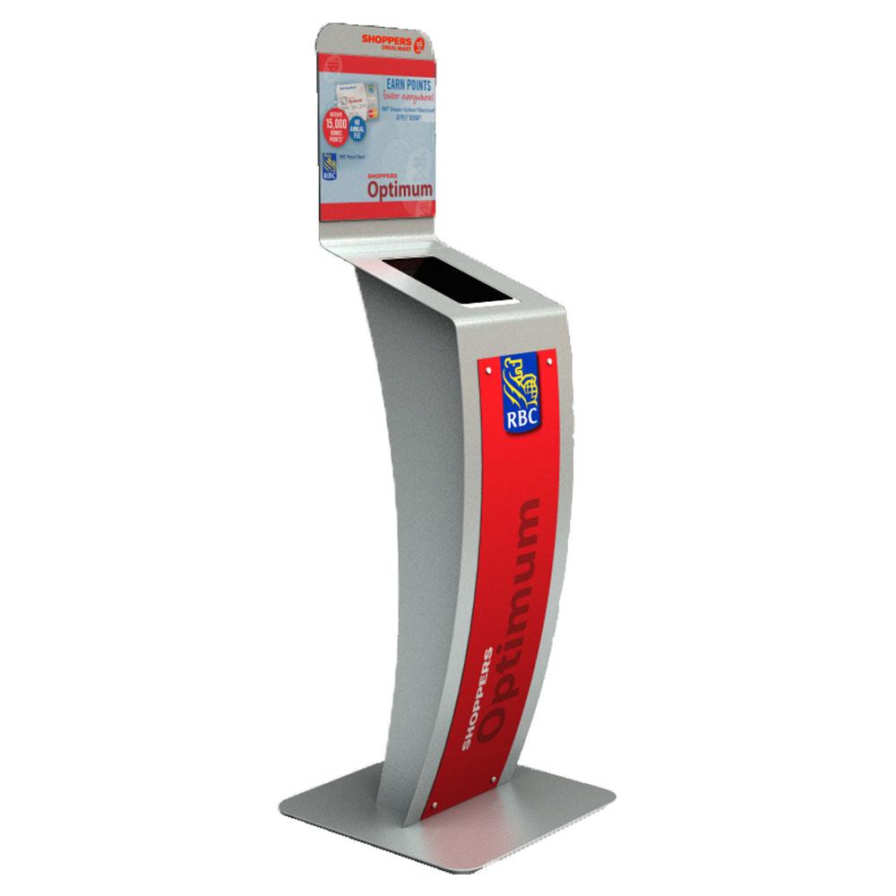 Shoppers Drug Mart Optimum Touch Screen Kiosk   Marketing Impact Limited
