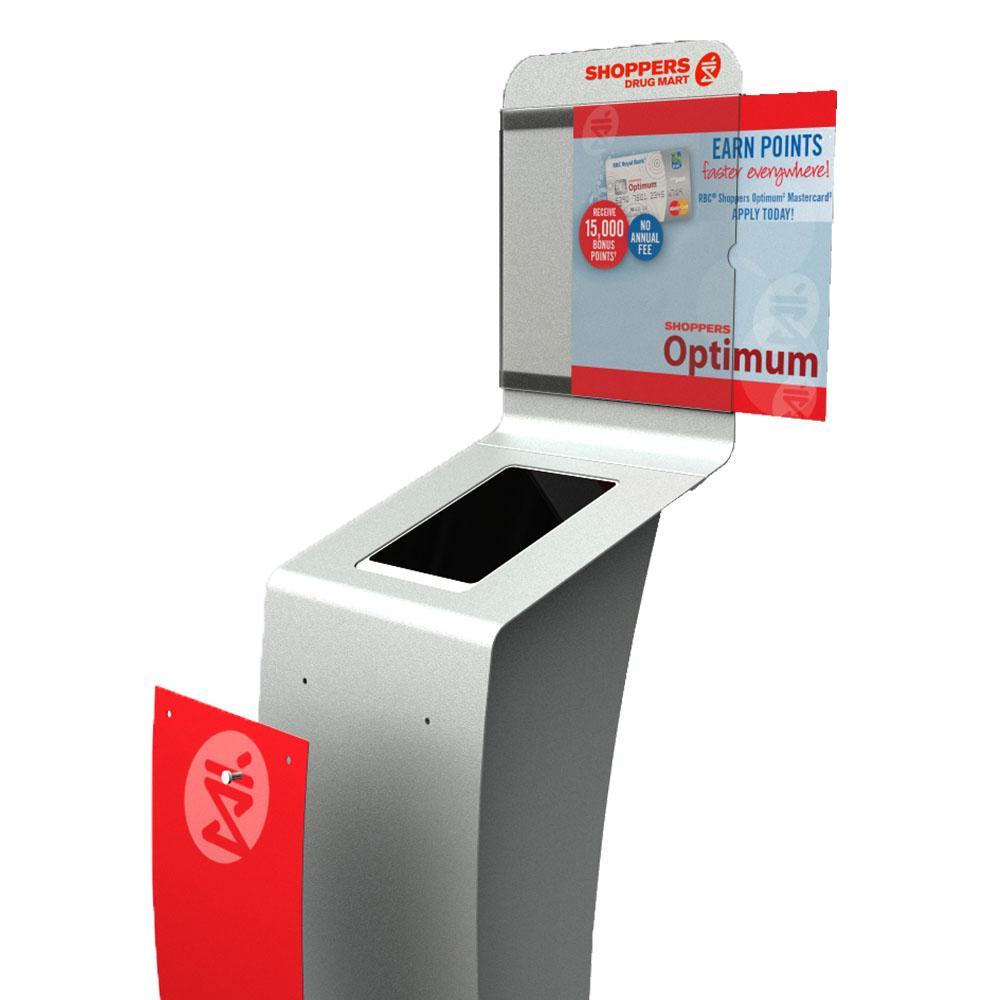 Shoppers Drug Mart Optimum Touch Screen Kiosk | Marketing